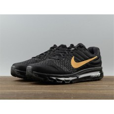 NIKE AIR MAX2017 BLACK GOLDEN 918091-991