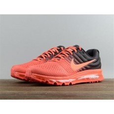 NIKE AIR MAX2017 ORANGE BLACK 849559-600
