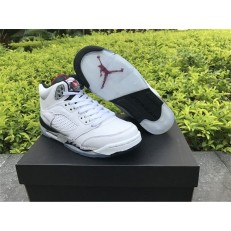 AIR JORDAN 5 RETRO GS WHITE CEMENT