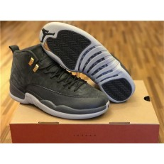 AIR JORDAN 12 RETRO GREY SUEDE
