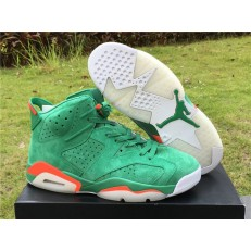 AIR JORDAN 6 RETRO GATORADE GREEN TEAM ORANGE