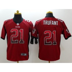 Atlanta Falcons #21 Desmond Trufant Red Drift Fashion Nike NFL Elite Jersey