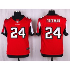 Atlanta Falcons #24 Devonta Freeman Elite Red Team Color Nike NFL Jersey