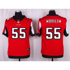 Atlanta Falcons #55 Paul Worrilow Elite Red Team Color Nike NFL Jersey