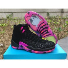 AIR JORDAN 12 RETRO DB BLACK PINK