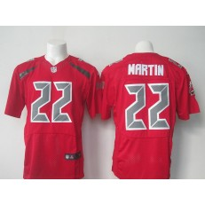 Tampa Bay Buccaneers #22 Doug Martin Nike Red Color Rush 2015 NFL Elite Jersey