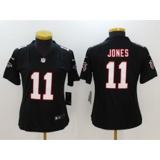 Women Nike Atlanta Falcons #11 Julio Jones Black Alternate Stitched NFL Elite Jersey