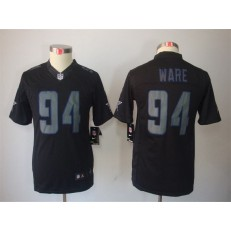 Women Nike Dallas Cowboys #94 Randy Gregory Black Impact Embroidered NFL Limited Jersey