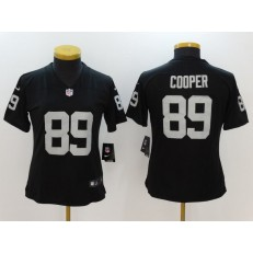 Women Nike Oakland Raiders #89 Amari Cooper Black Vapor Untouchable NFL Limited Jersey