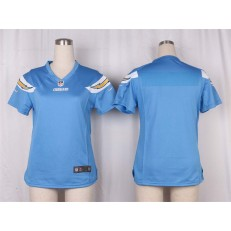 Women Nike San Diego Chargers Blank Game Electric Blue Alternate NFL Jersey