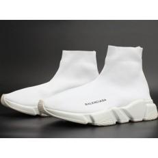 BALENCIAGA STRETCH MESH HIGH TOP SNEAKER WHITE 454485-W05G0-1000