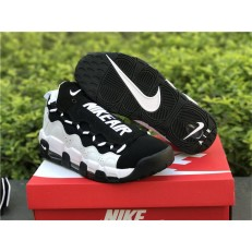 NIKE AIR MORE MONEY 96 QS BLACK WHITE AJ7383-010