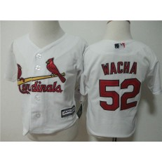 MLB St. Louis Cardinals 52 Michael Wacha White Cool Base Toddler Jersey