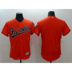 MLB Baltimore Orioles Blank Orange Flexbase Authentic Collection Stitched Men Jersey