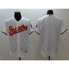 MLB Baltimore Orioles Blank White Flexbase Authentic Collection Stitched Men Jersey