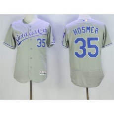MLB Kansas City Royals 35 Eric Hosmer Retired Gray Road 2016 Majestic Baseball JerseyProgram FlexBase Men Jersey