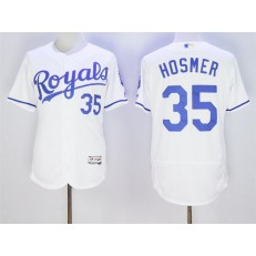 MLB Kansas City Royals 35 Eric Hosmer White 2016 Flexbase Majestic Baseball Men Jersey
