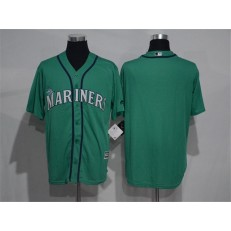 MLB Seattle Mariners Blank Green New Cool Base Stitched Men Jersey