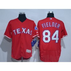 MLB Texas Rangers 84 Prince Fielder Red 2016 Flexbase Stitched Baseball Men Jersey