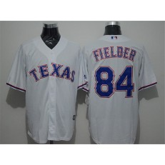 MLB Texas Rangers 84 Prince Fielder White New Cool Base Stitched Men Jersey