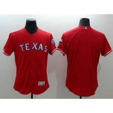 MLB Texas Rangers Blank Red Flexbase Authentic Collection Stitched Men Jersey