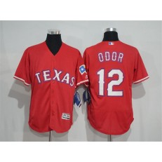 MLB Texas Rangers 12 Red 2016 Flexbase Stitched Baseball Men Jersey