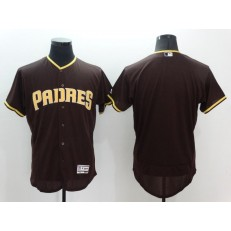 MLB San Diego Padres Blank Brown Flexbase Authentic Collection Stitched Baseball Men Jersey