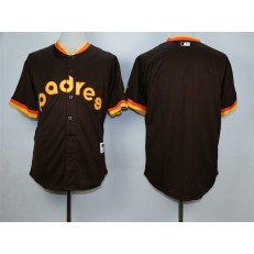 MLB San Diego Padres Blank Coffee 1984 Turn Back The Clock Men Jersey