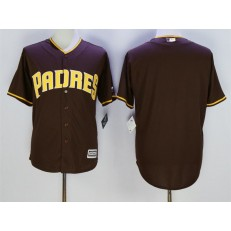 MLB San Diego Padres Blank Coffee New Cool Base Stitched Men Jersey
