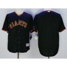 MLB San Francisco Giants Blank Black New Cool Base Men Jersey