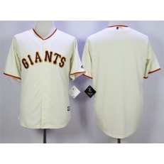 MLB San Francisco Giants Blank Cream New Cool Base Men Jersey