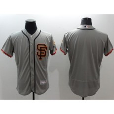 MLB San Francisco Giants Blank Grey Flexbase 2016 Player Men Jersey