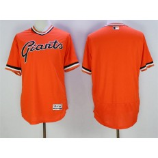 MLB San Francisco Giants Blank Orange Flexbase Authentic Collection Cooperstown Stitched Baseball Men Jersey