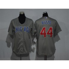 MLB Chicago Cubs 44 Anthony Rizzo Grey New Cool Base Women Jersey