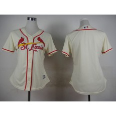 MLB St.Louis Cardinals Blank 2015 Cool Base Women Jersey