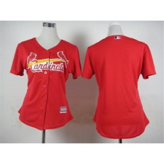 MLB St.Louis Cardinals Blank 2015 Red Jersey