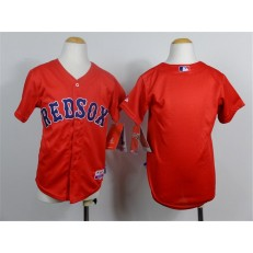 MLB Boston Red Sox Blank 2014 Red Youth Jersey