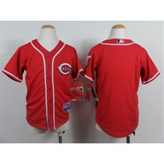 MLB Cincinnati Reds Blank Red Youth Jersey