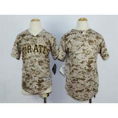 MLB Pittsburgh Pirates Blank Alternate Camo 2015 Cool Base Youth Jersey