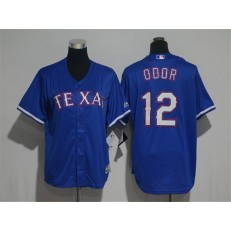 MLB Texas Rangers 12 Rougned Odor Blue Cool Base Stitched Youth Jersey