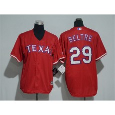 MLB Texas Rangers 29 Adrian Beltre Red Cool Base Stitched Youth Jersey