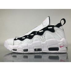 NIKE AIR MORE MONEY 96 QS GET MONEY WHITE BLACK PINK