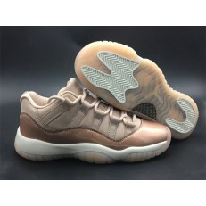 AIR JORDAN 11 RETRO LOW GS ROSE GOLD AH7860-105