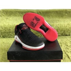 AIR JORDAN 32 LOW BRED BLACK UNIVERSITY RED AA1256-001