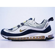 NIKE AIR MAX 98 ROYAL BLUE WHITE YELLOW 640744-004