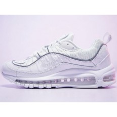 NIKE AIR MAX 98 TRIPLE WHITE 640744-002