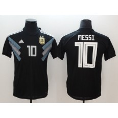 Argentina 10 Messi Away 2018 FIFA World Cup Thailand Soccer Men Jersey