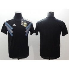 Argentina Away 2018 FIFA World Cup Thailand Soccer Men Jersey