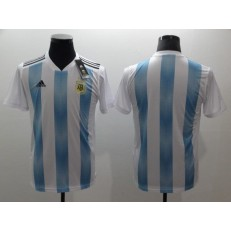 Argentina Home 2018 FIFA World Cup Thailand Soccer Men Jersey