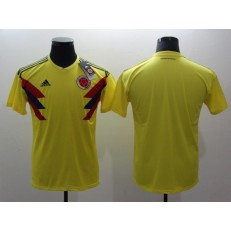Colombia Home 2018 FIFA World Cup Thailand Soccer Men Jersey